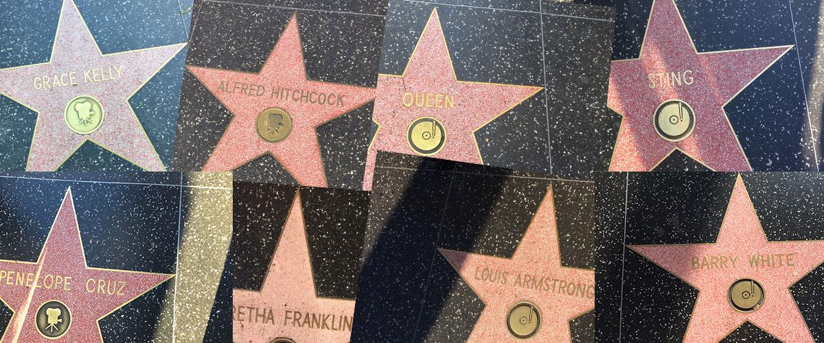 les étoiles LA
