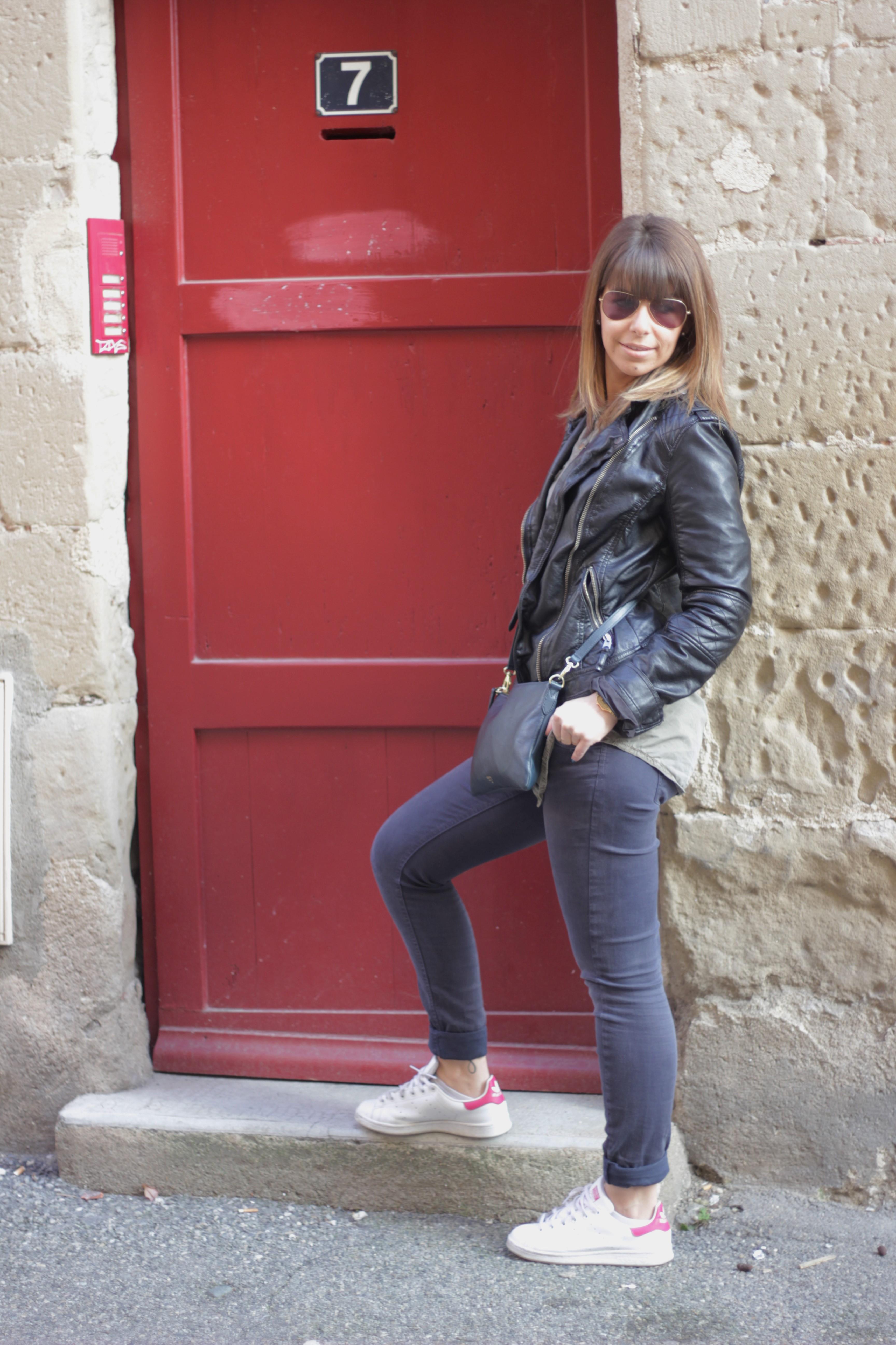 look porte rouge