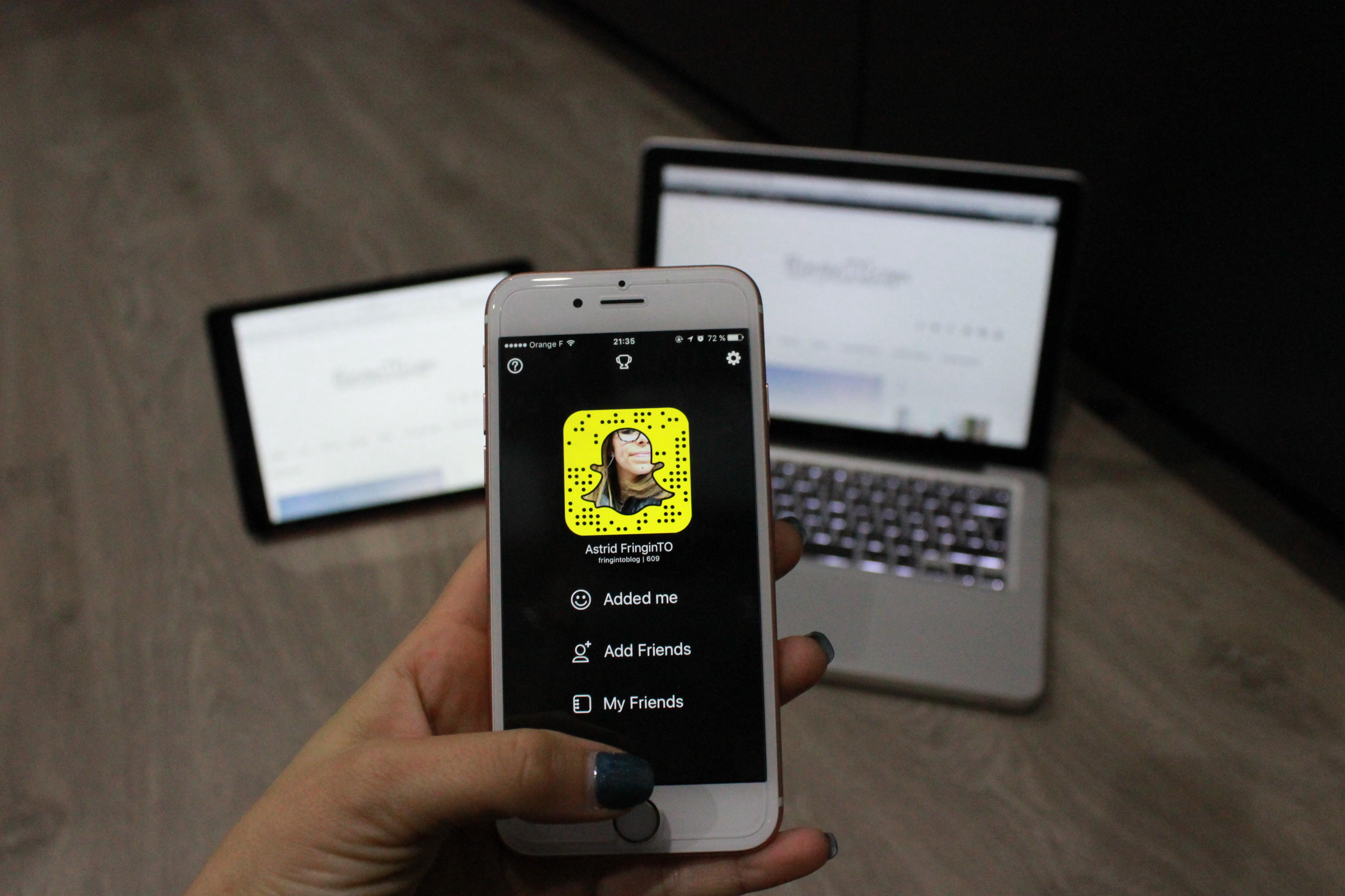 réseaux sociaux snapchat apple