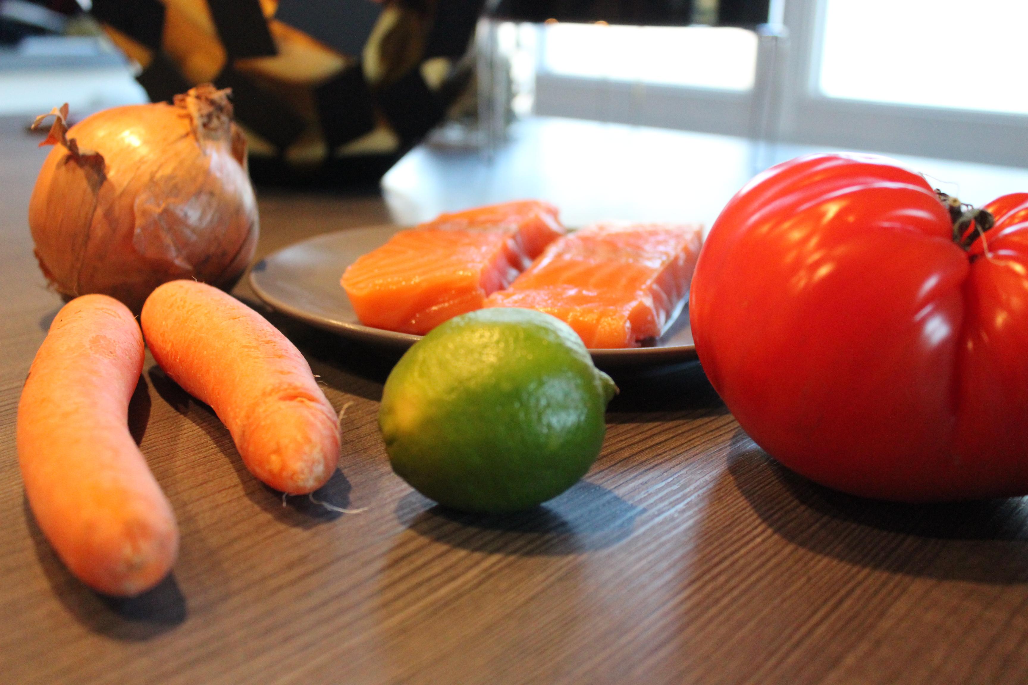 recette saumon blog food