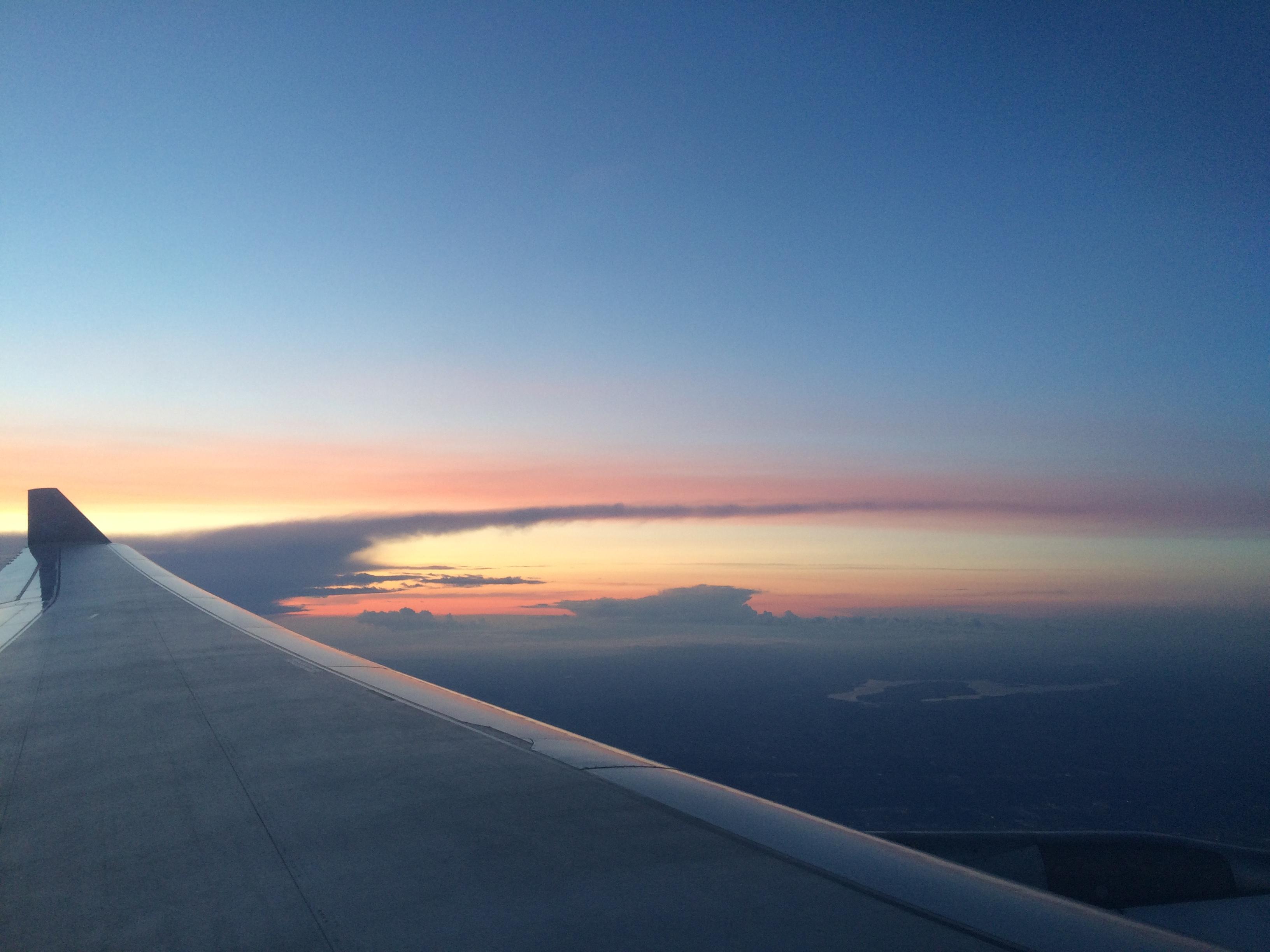 blog voyage vue d'avion