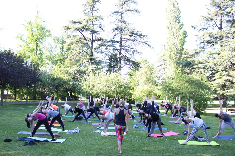 yoga parc jouvet valence