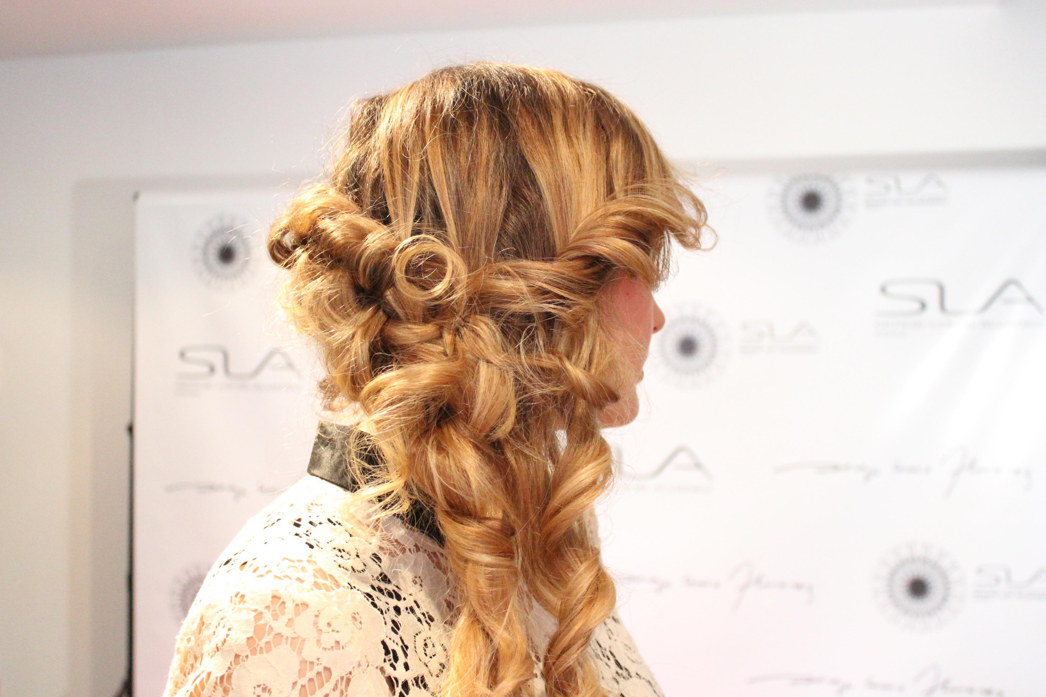 SLA soirée coiffure Angela HairStyle