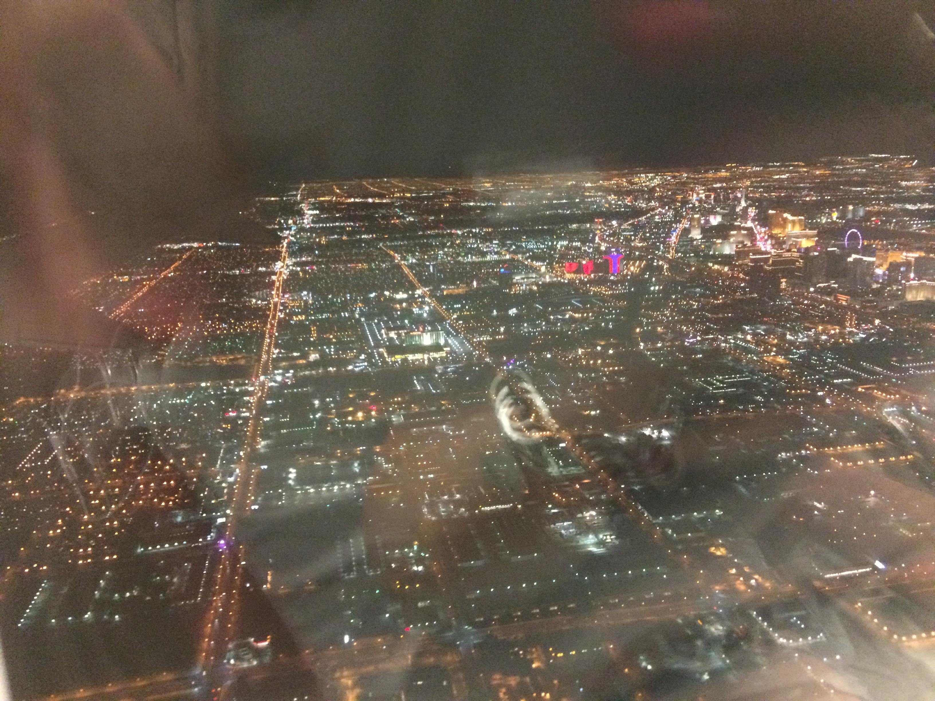 vue du ciel en avion