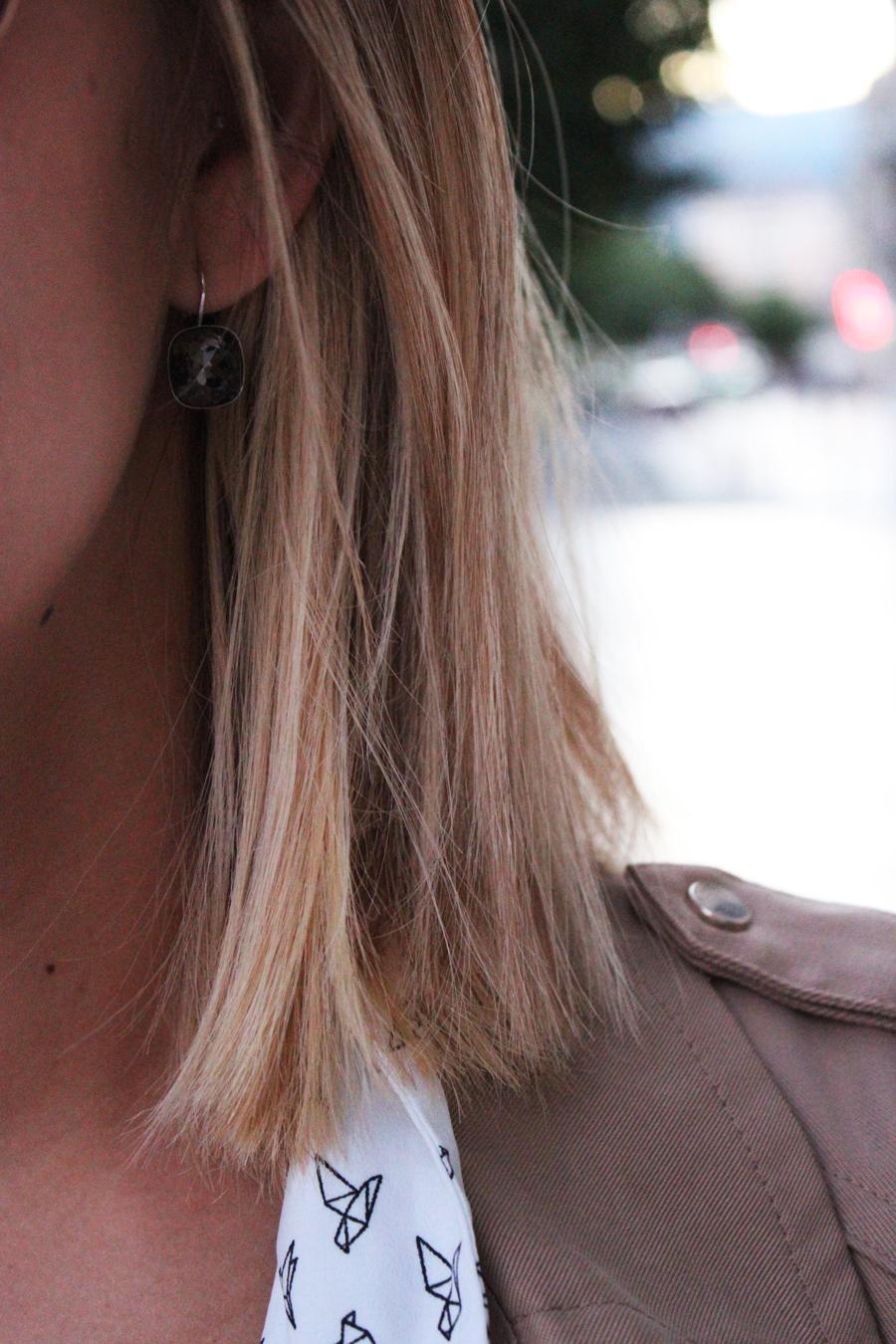 swarovski boucles d'oreilles