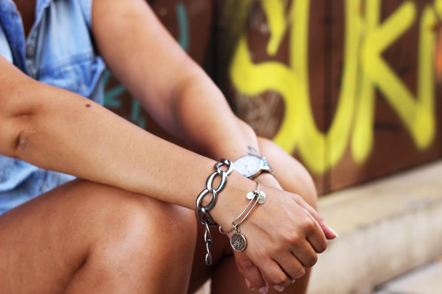 bracelet blogueuse mode