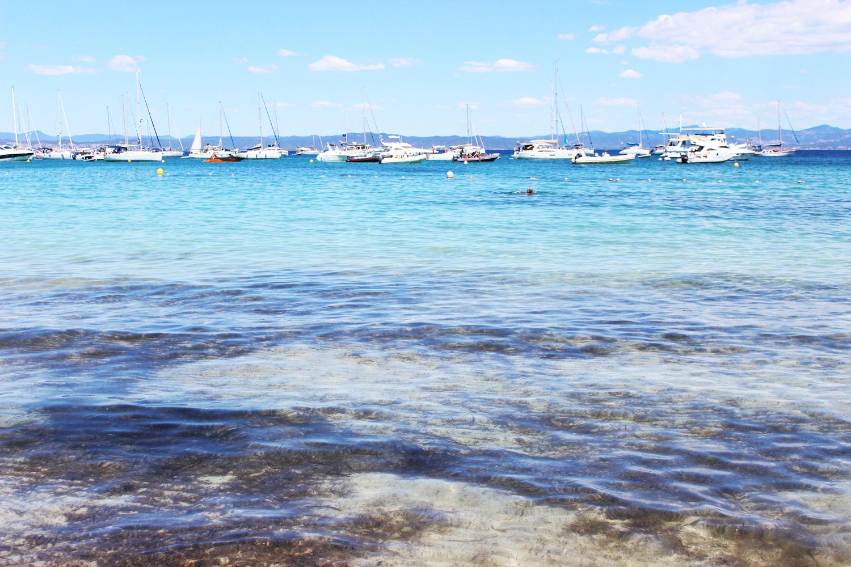 plage argent île de porquerolles