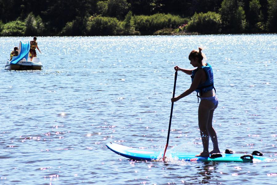 j'ai testé le paddle en ardèche
