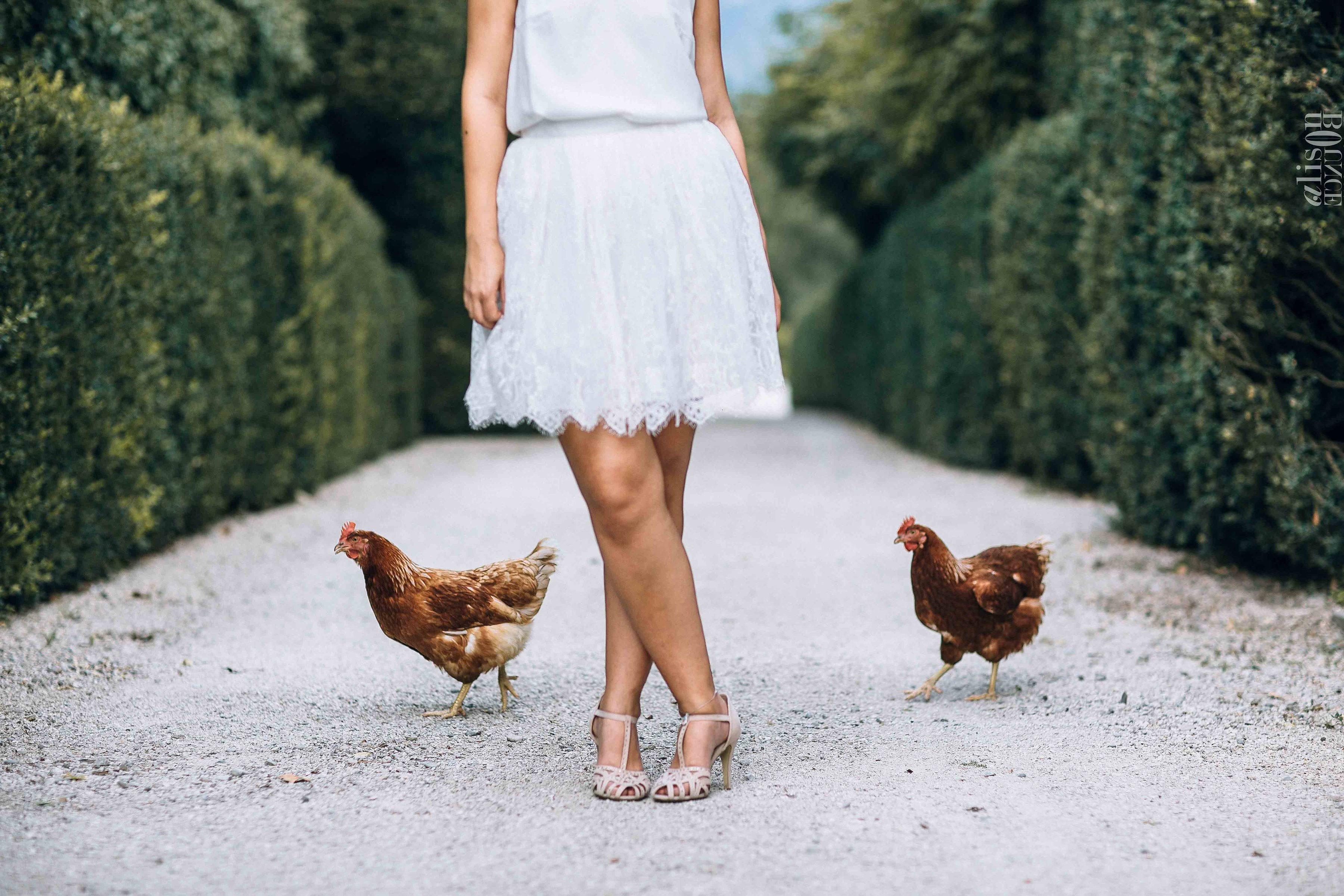 Astrid à la ferme