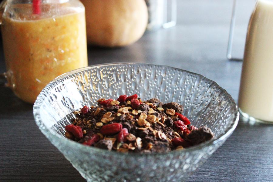 petit déjeuner équilibré - healthy