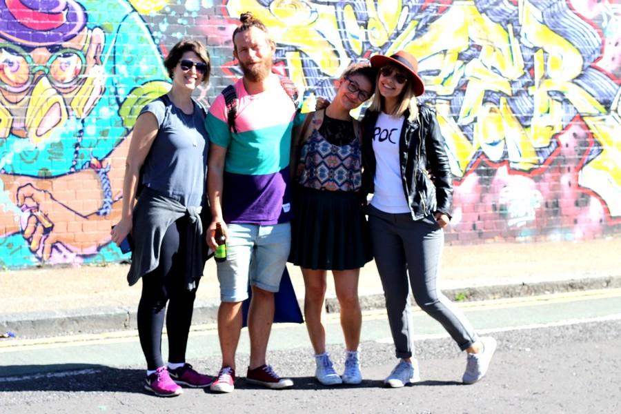 friends london street art