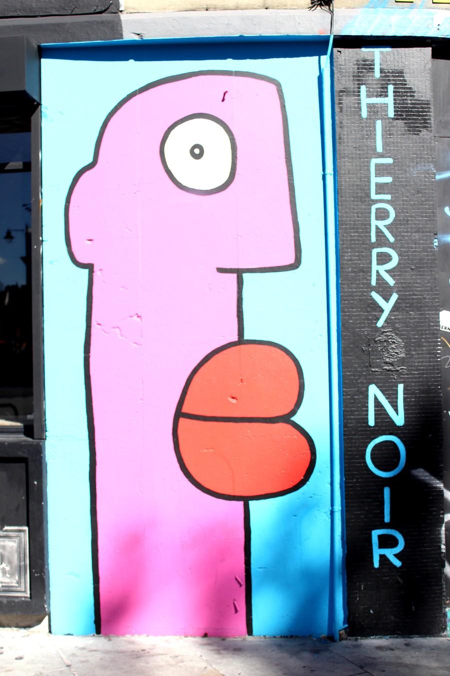 thierry noir street-art london