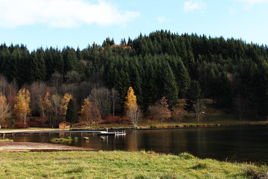 lac de saint martial Ardèche