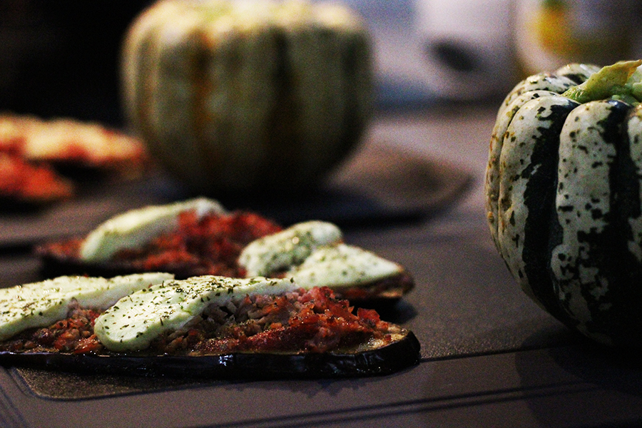 recette aubergine ravioles