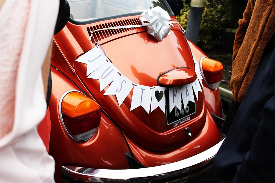 vintage car mariage
