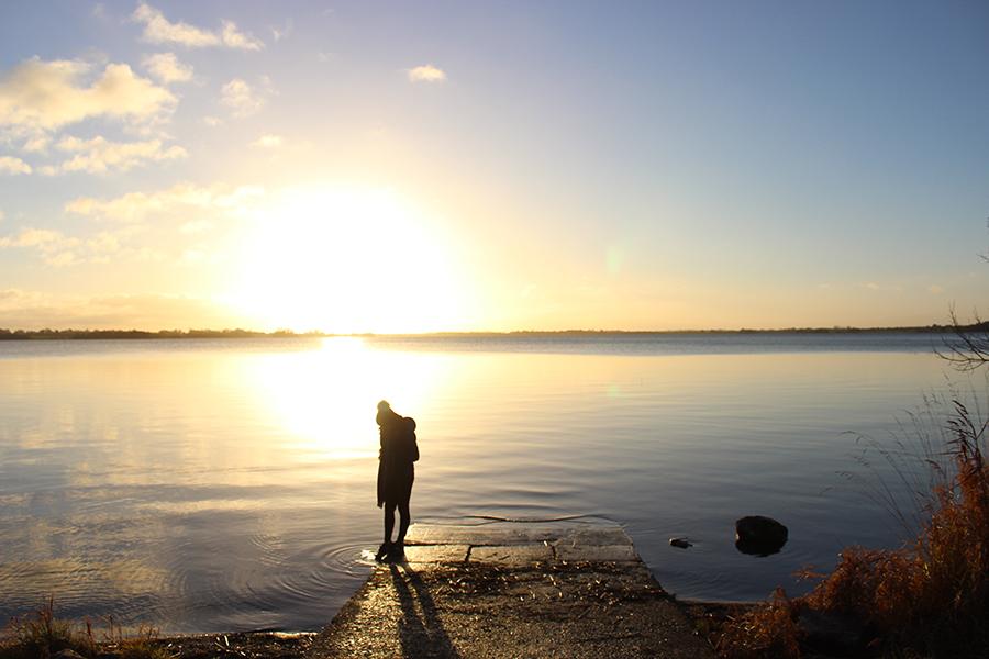 mullingar-lake-lough-ennel-sunset