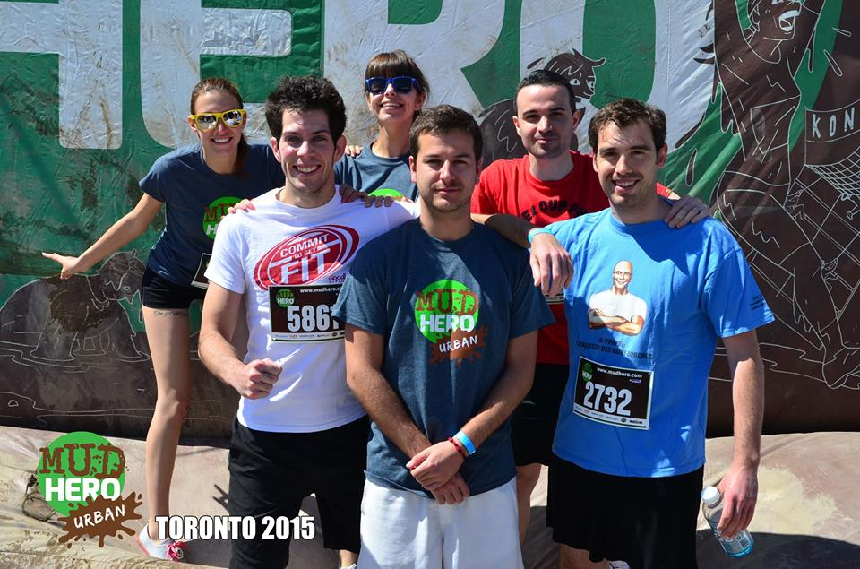 mud-hero-toronto-2015 avant la course