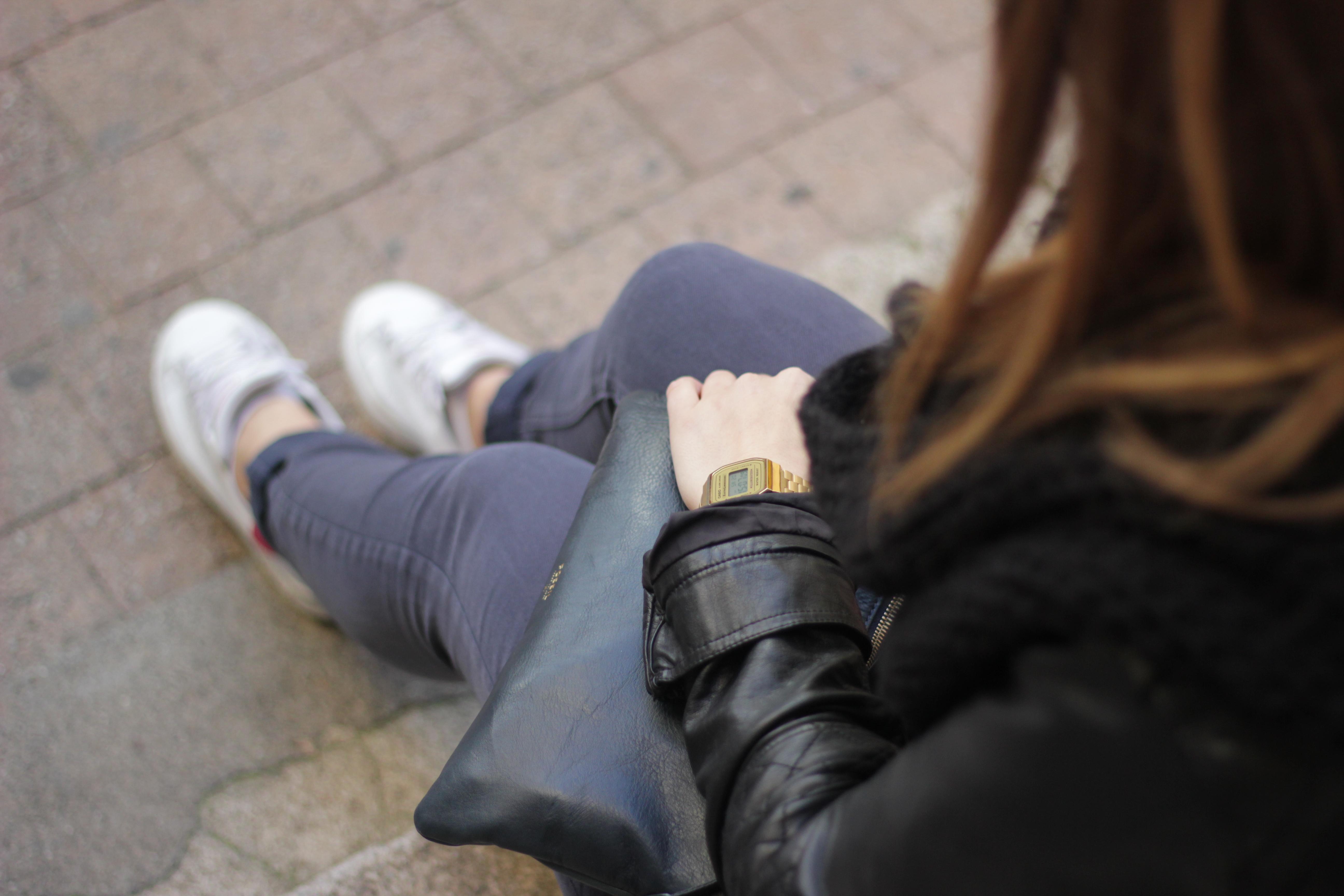 Look dans la rue montre casio vintage