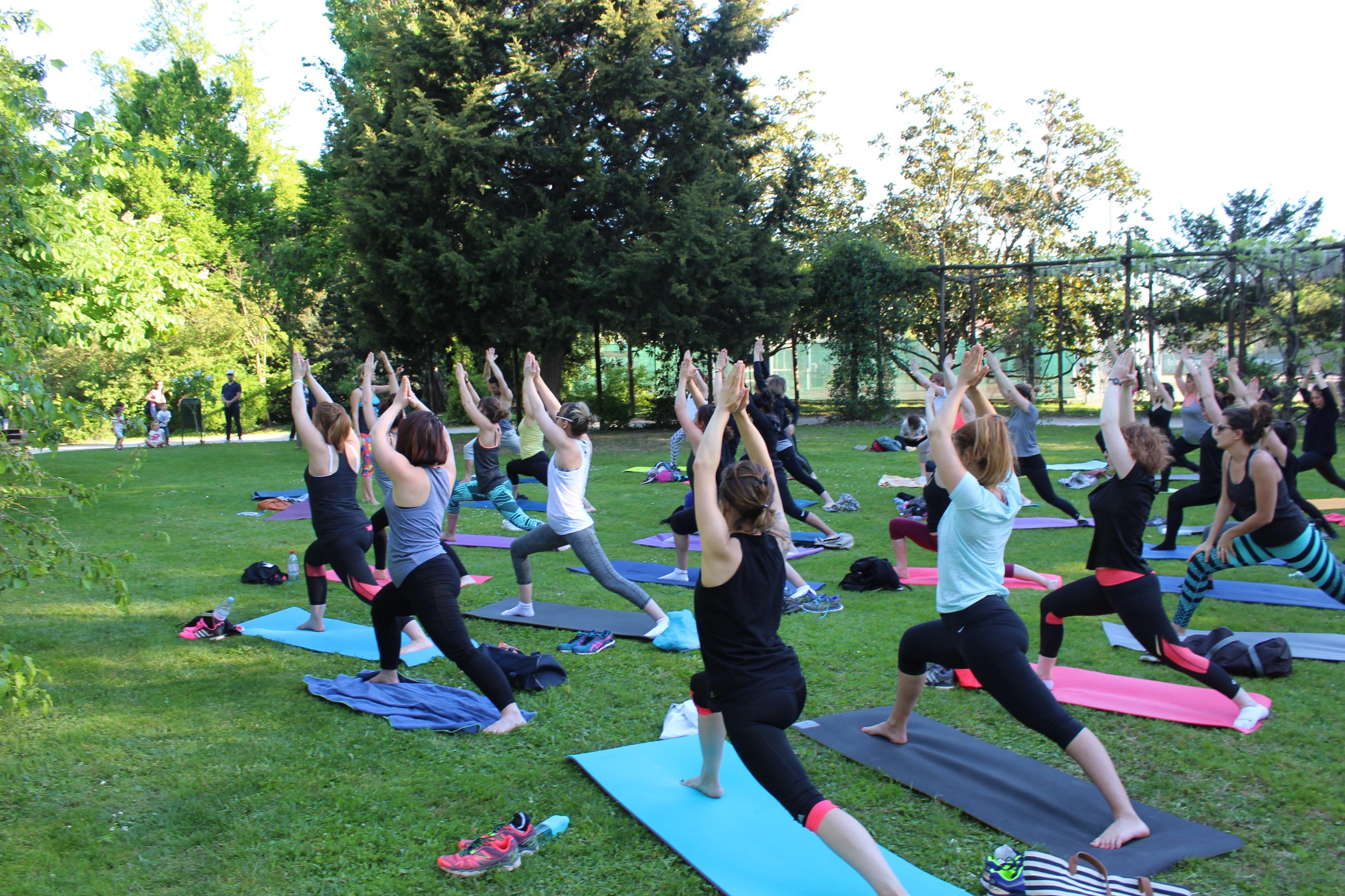 yoga posture du guerrier
