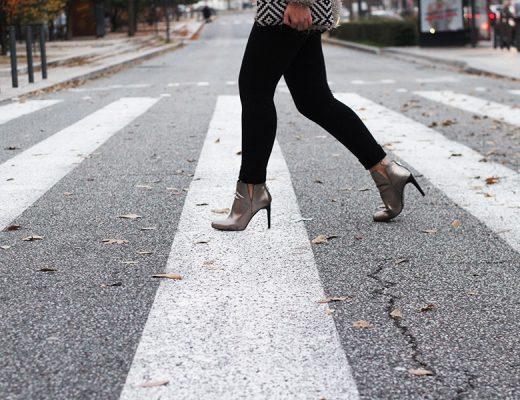 ootd walk heels
