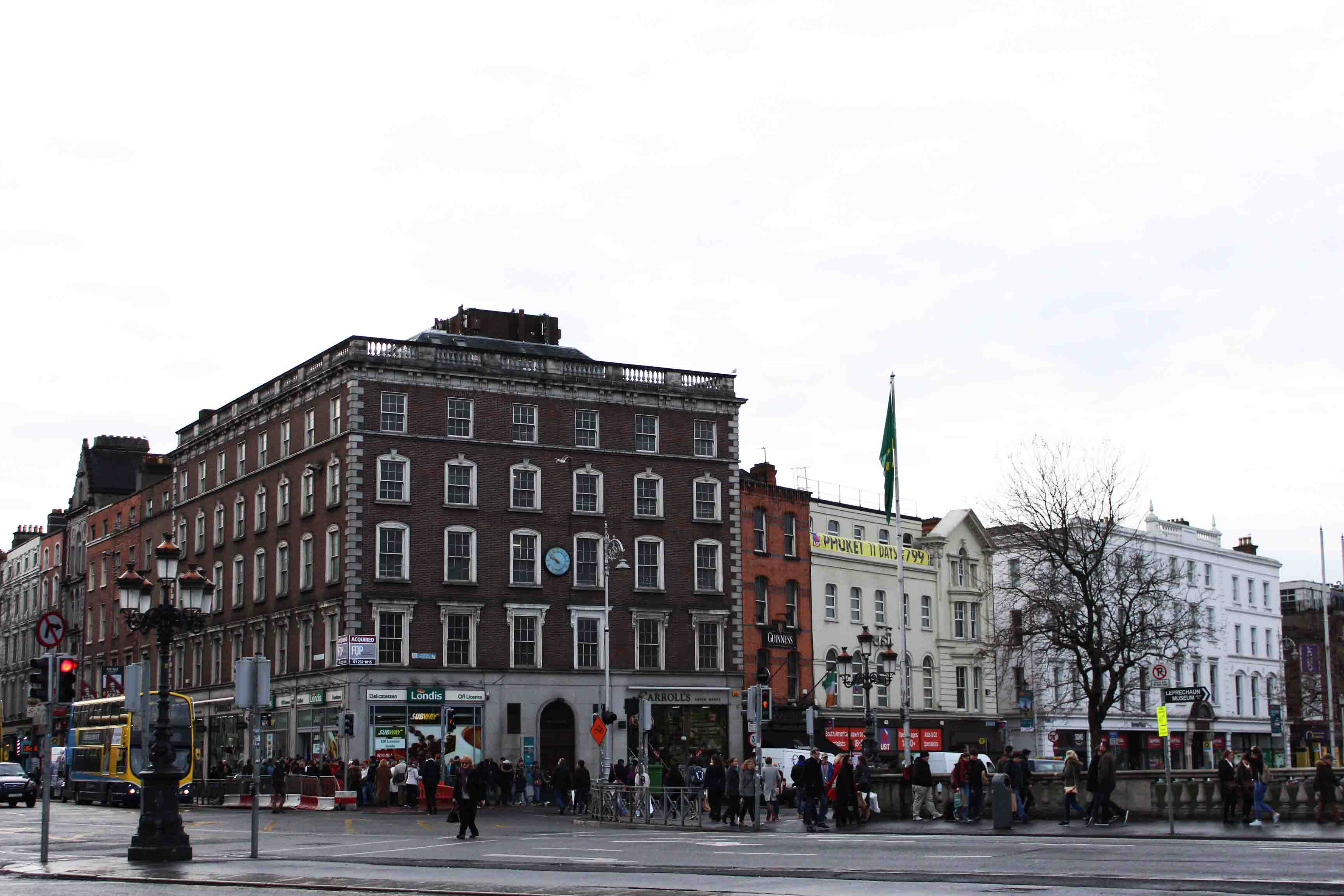 Dublin city center