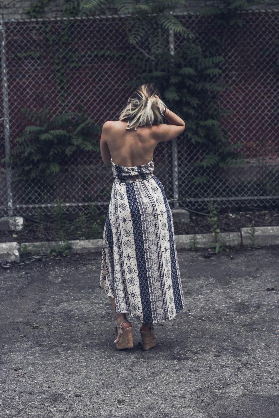 bohemian dress summer trend